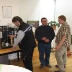 Szene 5: Kaffee kaufen