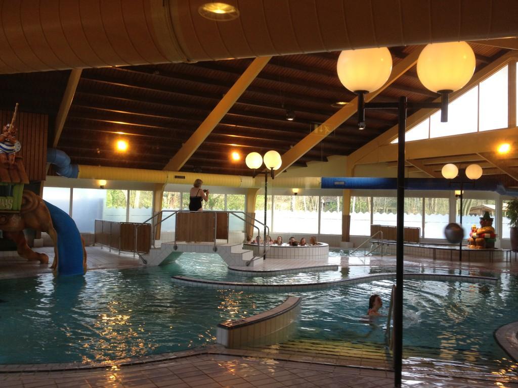 Der Ferienpark hatte ein tolles Schwimmbad